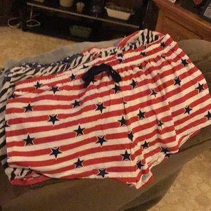 3 sleeping shorts